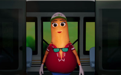 Recent Productions – 3D Mascot for Road Safety Campaign